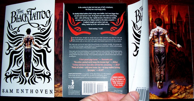 Black Tat US paperback